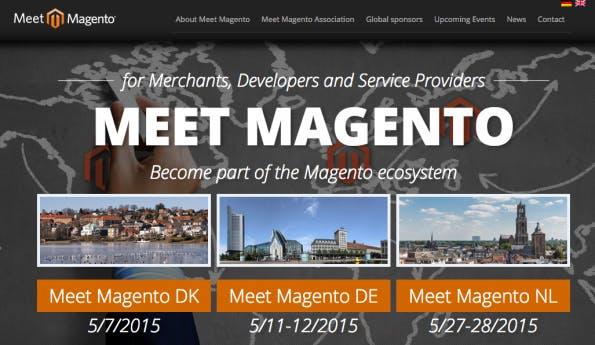 Der Verband sieht sich sich nicht nur als Veranstalter sondern auch als Sprachrohr der Community. (Screenshot: Meet Magento)