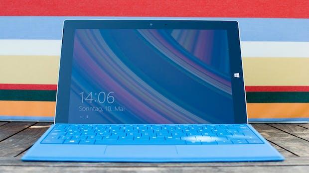 Surface 3: Neues Microsoft-Tablet kann im Test überzeugen