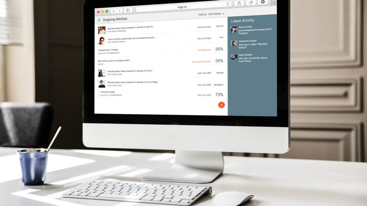 Schluss mit Excel-Chaos: Rogr.io will das Doodle für Business-Daten werden