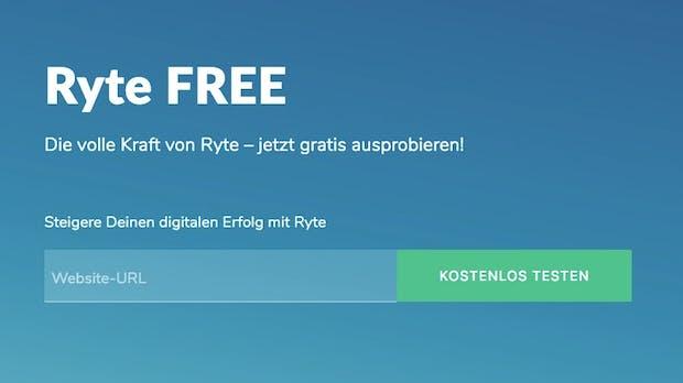 Ryte startet kostenlosen Account für kleine Websites