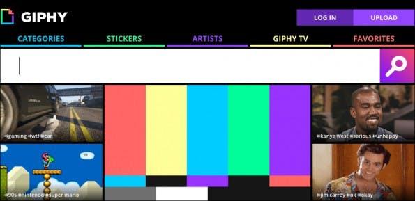 GIFs sind der heiße Scheiß im Netz – auf GIPHY findet ihr sie! (Screenshot: GIPHY)