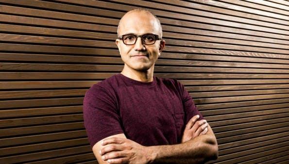 Microsoft-CEO Satya Nadella kündigt Milliarden-Cloud-Spende an. (Foto: Microsoft)