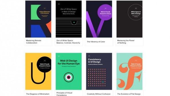 UXPin verschenkt 32 E-Books zum Thema UX-Design. (Screenshot: uxpin.com)