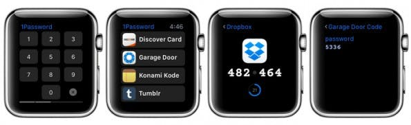 Apple Watch: 1Password der Passwort-Manager für euer Handgelenk. (Grafik: 1Password)