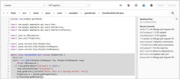 Cloud Source Repositories: Google startet eigene GitHub-Alternative. (Screenshot: Google)
