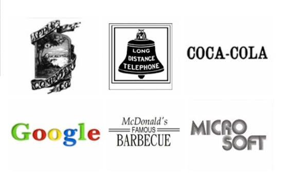 Logo-Design: Die Evolution 12 berühmter Brand-Logos in GIFs