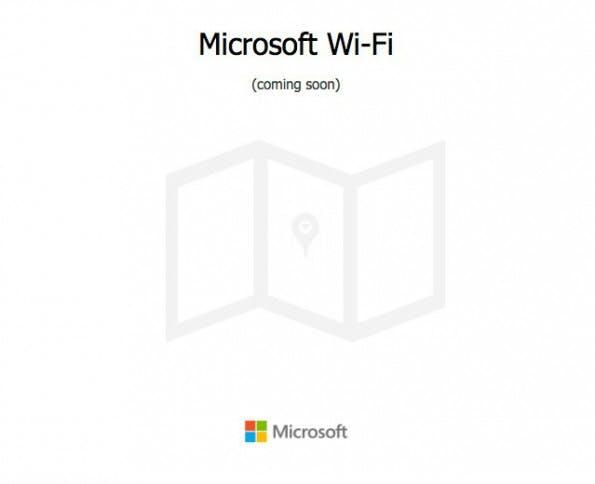 """""""Coming soon"""": Microsoft plant WLAN-Dienst für Office-Kunden. (Screenshot: Microsoft)"""