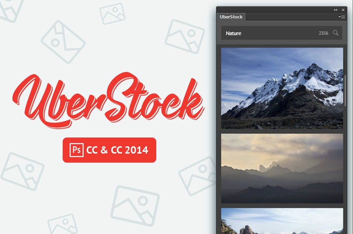 Kostenlose Stockfotos für Photoshop CC: Das kann das 19-Dollar-Plugin Uberstock
