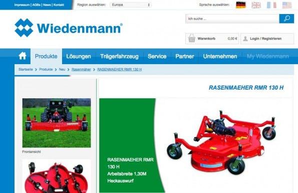 (Screenshot: Wiedenmann)