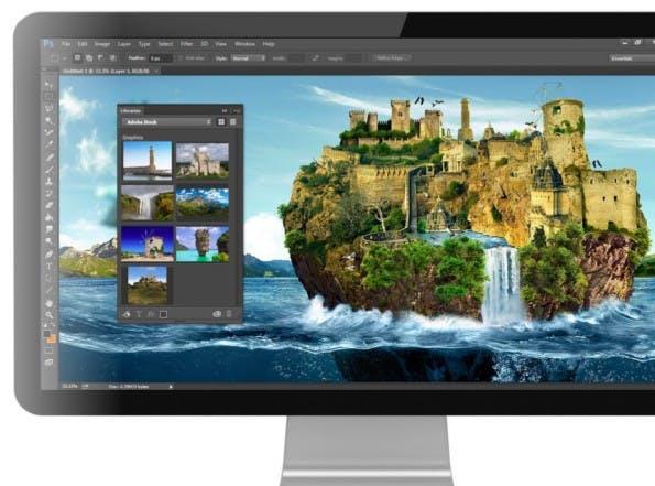 Adobe Stock soll nahtlos in die Creative-Cloud-Anwendungen integriert werden. (Bild: Adobe)