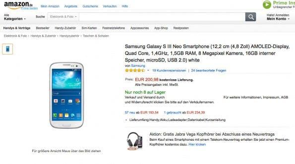 Das Beispiel zeigt, das mittlerweile Wildwuchs im Produktkatalog herrscht: Keyword-Spamming oder gleich die halbe Feature-Liste sind im Titel wieder zu finden. (Screenshot: Amazon)