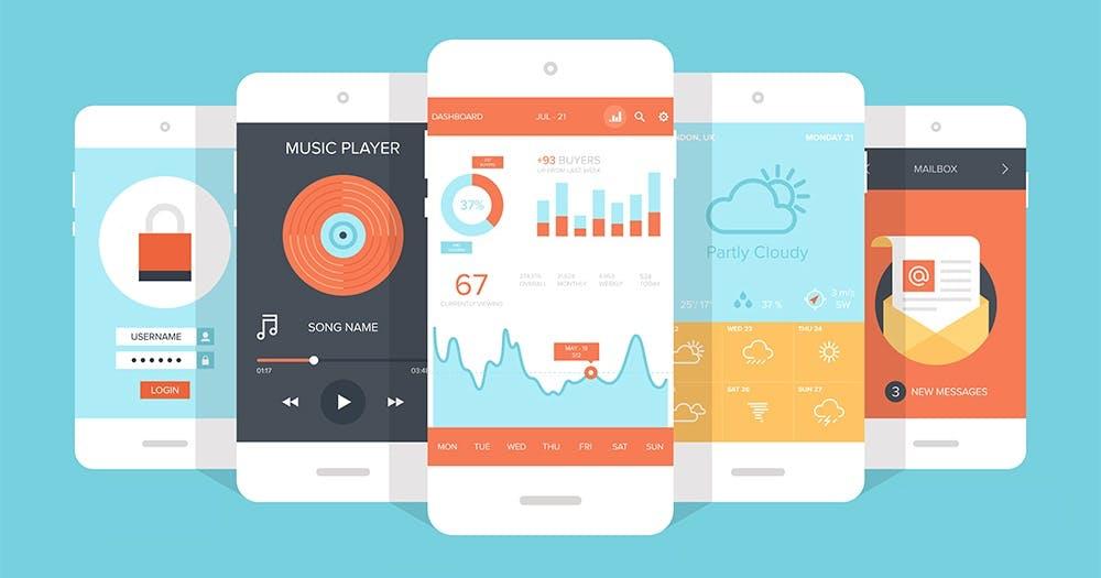 Die spannendsten mobilen Design-Trends - wie sehen Apps 2018 aus