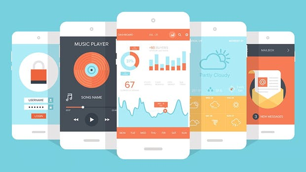 Die spannendsten mobilen Design-Trends – wie sehen Apps 2018 aus
