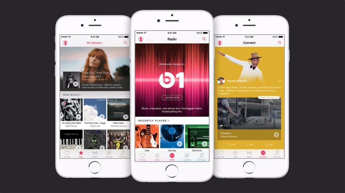 Apple Music hat jetzt über 40 Millionen Abonnenten und einen neuen Boss
