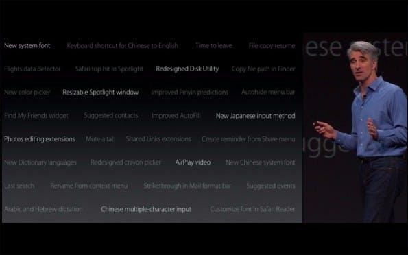 """Viele Highlights von OS X """"El Capitan"""" wurden nur auf der Präsentation angekündigt. (Screenshot: Apple.com)"""