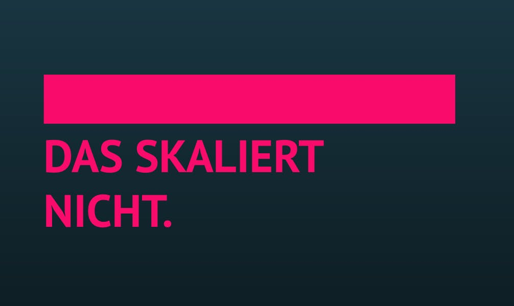 """""""Das skaliert nicht!"""" und weitere schlimme Buzzwords aus dem Büro. (Grafik: t3n.de)"""