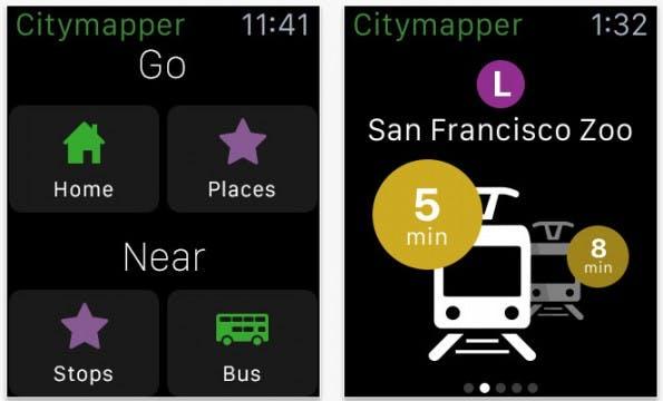 Citymapper: Zumindest Bewohner von Hamburg und Berlin können die App auch in Deutschland nutzen. (Screenshot: App-Store)