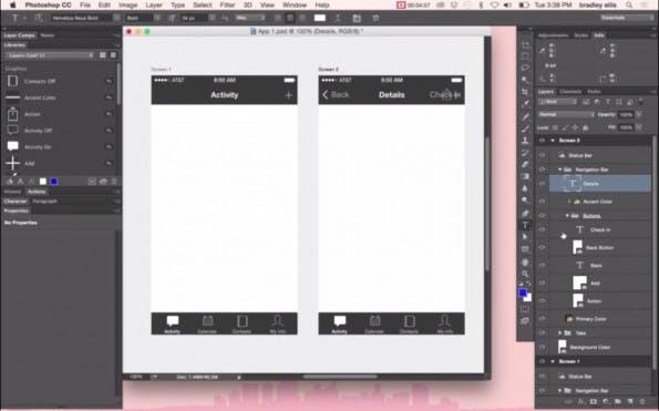 Die Creative-Cloud bekommt ein Update und Photoshop das Artboards-Feature. (Screenshot: YouTube)