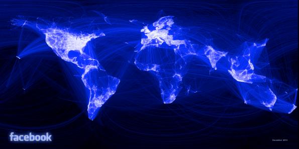 Die größte Gefahr für Hackerangriffe stellen oft die eigenen Mitarbeiter dar, die Soziale Netzwerke Facebook oder LinkedIn nutzen. (Grafik: Facebook)