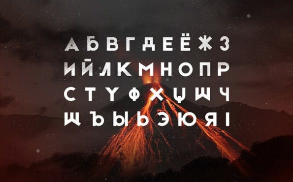 Kostenlose Fonts 2015: Etna. (Grafik: RIT Creative)
