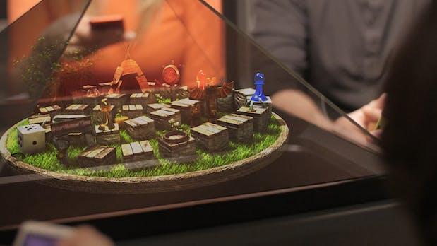Die Zukunft ist da: Holografisches Display erobert Kickstarter