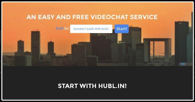 Gratis-Videokonferenzen im Browser: Hubl.in lässt dich ohne Plugins losstarten