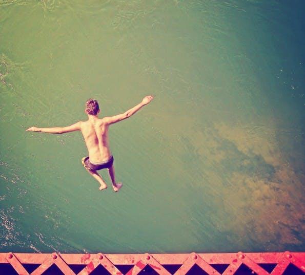 Auch Risikofreude gehört zu den wichtigen Kompetenzen von heute. (Foto: Shutterstock)