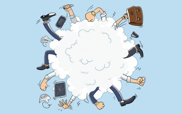Konflikte werden in Unternehmen oft nicht erkannt – obwohl sie dadurch indirekt Geld verlieren. (Grafik: Dmitry Natashin / Shutterstock)