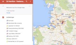 kreative bewerbungen google maps cv Ed Hamilton | t3n – digital pioneers