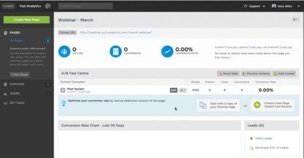 (Screenshot: unbounce.com)