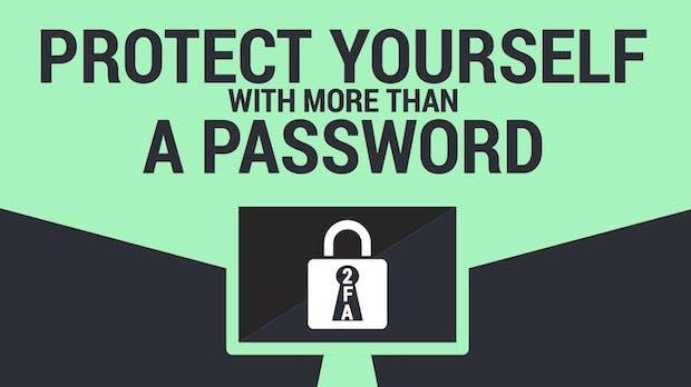 Ein Passwort reicht nicht aus: Infografik erklärt Vorteile der Zwei-Faktor-Authentifizierung