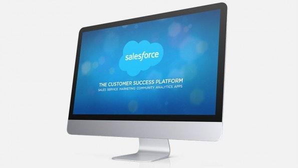 CRM-Systeme: Salesforce. (Screenshot: t3n)