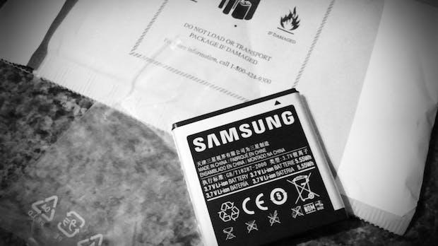 Neue Technologie: Samsung will Kapazität von Lithium-Ionen-Akkus verdoppeln