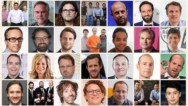 Europas Top-Gründer: Das sind die 50 wichtigsten Tech-Entrepreneure zwischen Stockholm und Rom