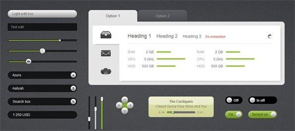 Mal ganz weg vom Flat Design: Futurico. (Screenshot: railsware.com)