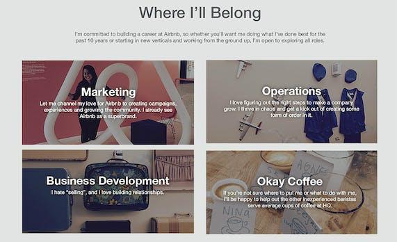 Mit Kreativität zum Traumjob: Was wir von dieser Bewerbung bei Airbnb lernen können