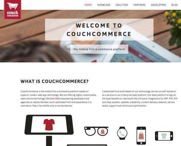 (Screenshot: CouchCommerce)