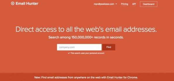 E-Mail-adressen-Suche-mit-Email-hunter