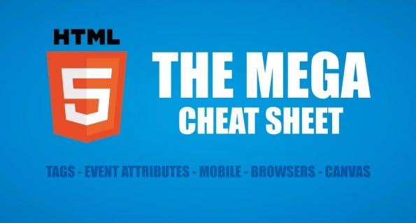 Cheat-Sheet für HTML5-Entwickler. (Grafik: MakeAWebsiteHub.com )