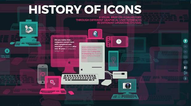 Die Geschichte der Icons: Eine spannende Design-Reise durch 4 Jahrzehnte