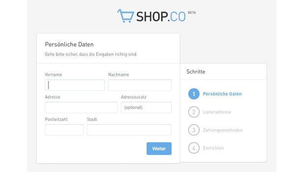 (Screenshot: ShopCo)