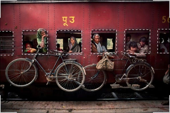 Perfekte Fotos: 4. Rahmen. (Screenshot: Cooperative of Photography. Original: Steven McCurry)