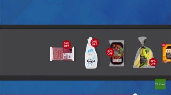 Die britische Supermarktkette Waitrose bietet ihren Kunden Sonderangeboten zum selber aussuchen. Ein cleveres Marketing-Konzept. (Screenshot: Waitrose)