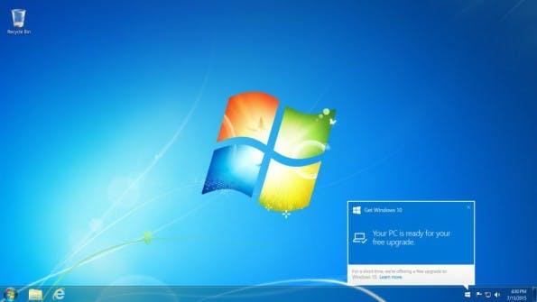 Windows-10-Update. (Bild: Microsoft)