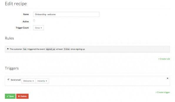 Mit Aboardly erstellt ihr einfach Regeln zur Automatisierung von E-Mails. (Screenshot: Aboardly)