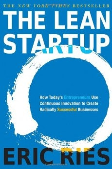 """Der Bestseller """"The Lean Startup"""" von Eric Ries. (Grafik: theleanstartup.com)"""