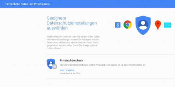 Digitaler Fußabdruck: Als erstes solltest du deine Online-Dienste und sozialen Netzwerke einem Privatsphäre-Check unterziehen. (Screenshot: t3n)