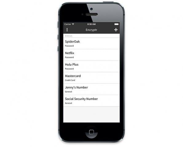Quelloffener Passwortmanager: Encryptr soll bald auch in einer iOS-Version verfügbar sein. (Grafik: Encryptr)