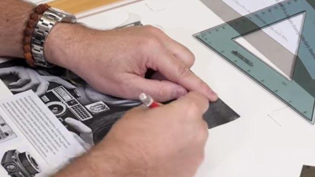Als Grafik-Design noch Handarbeit war: So haben Kreative vor Photoshop gearbeitet [Video]