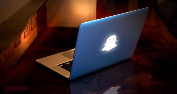 Auch der Snapchat-CEO besitzt ein individualisiertes MacBook von Uncover. (Foto: Uncover)